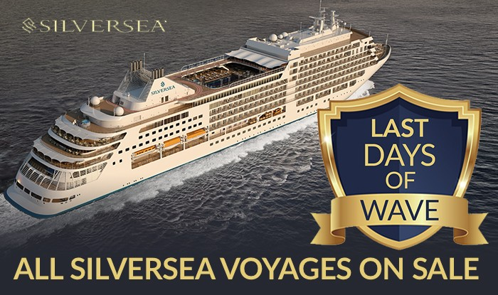 Last Chance to receive Wave Amenities on Silversea Reservations