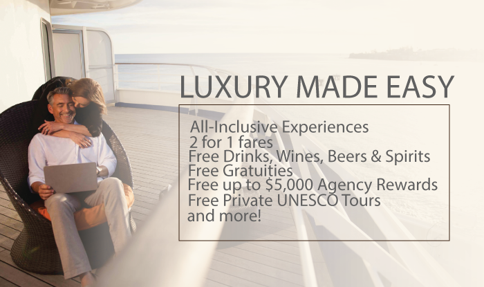 Luxury Made Easy Receive Extra Perks & Cruise Concierge Service