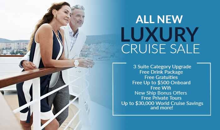 Luxury Made Easy! Summer Sizzling Cruise Deals