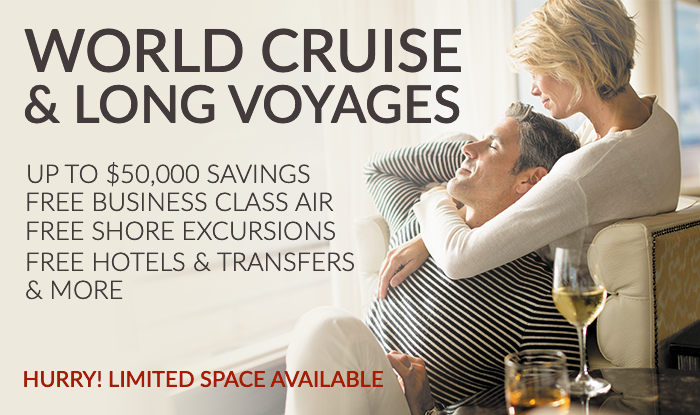 March World Cruise Sale