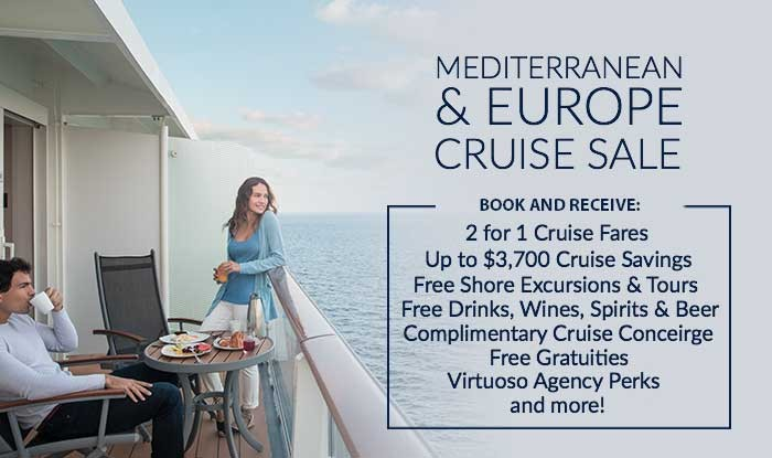 Mediterranean Cruise Sale! Added Value on Every Reservation