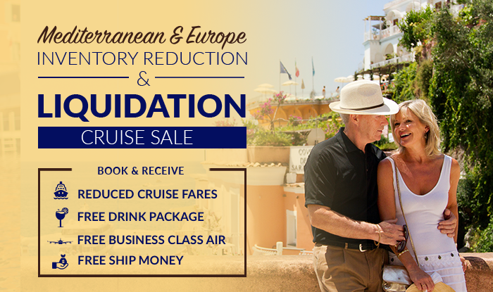 Mediterranean & Europe Cruises on Sale