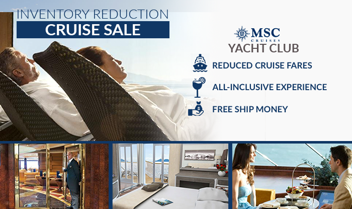 MSC Cruises Inventory Reduction & Liquidation Sale
