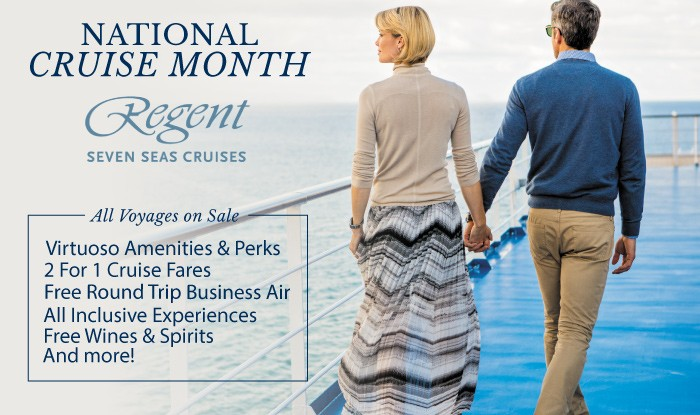 National Cruise Month Sale! All Regent Voyages on Sale
