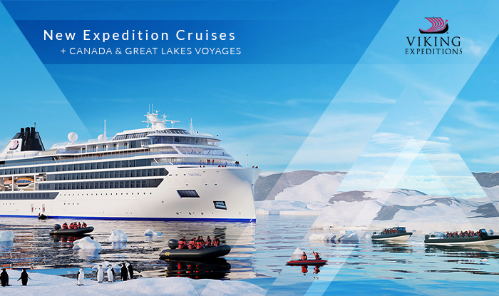 NEW Viking Cruises Voyage Canada & Great Lakes! Plus Up to Free Air to Europe, Up to $1,000 Shipboard Credit and More!