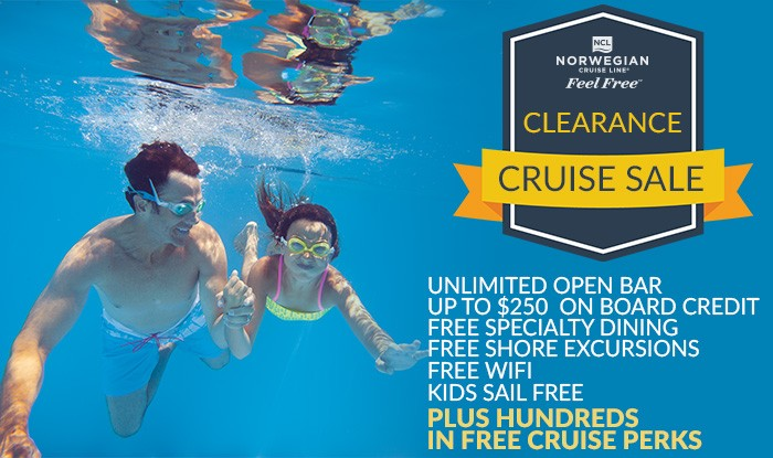 Norwegian Cruise Line Clearance Cruise Sale!
