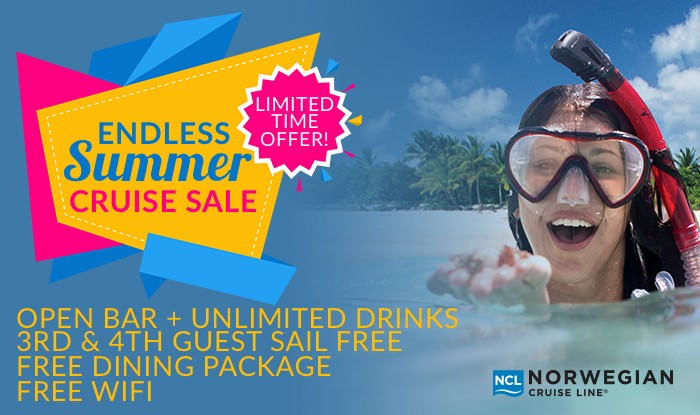 Norwegian Cruise Line Endless Summer Sale