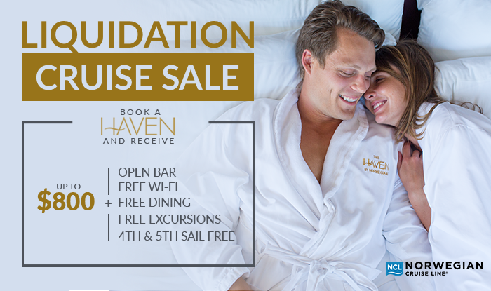 Norwegian Cruise Line Inventory Reduction & Liquidation Sale