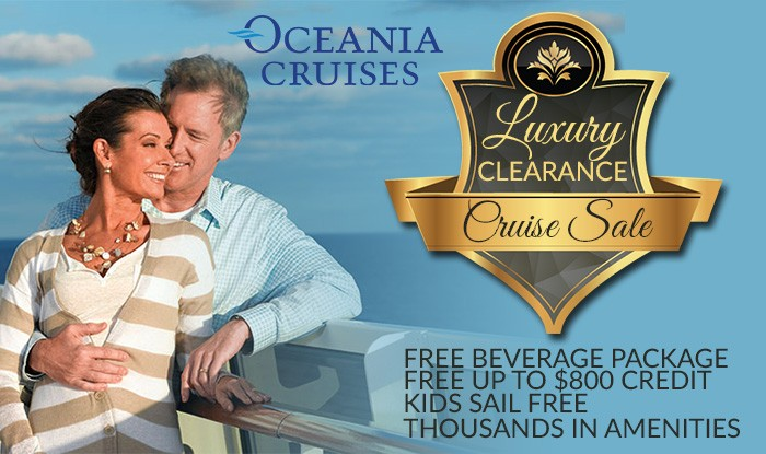 Oceania Clearance Cruise Sale