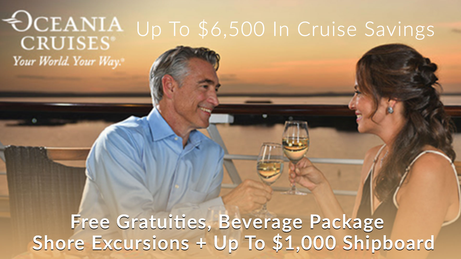 Oceania Cruises OLife Exclusive Savings