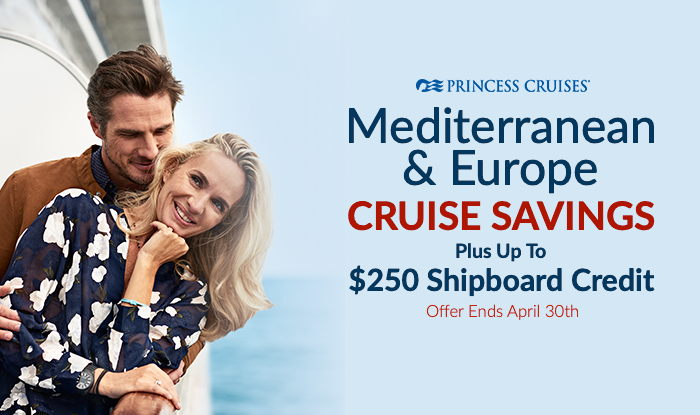 Princess Cruises Last Minute Savings