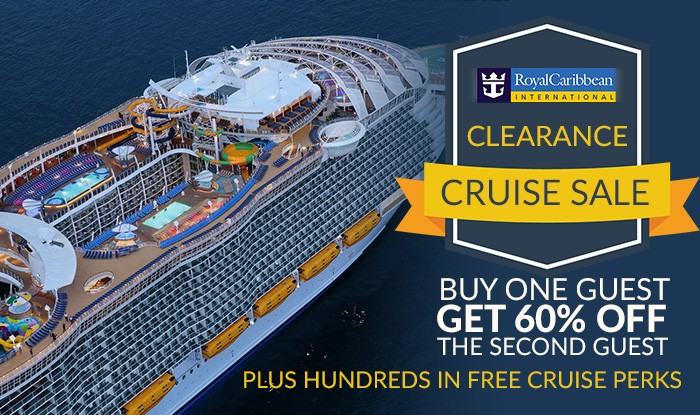 Never Seen Before Royal Caribbean Clearance Cruise Sale