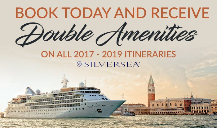 Book Today and Receive Double Amenities on all Silversea Voyages