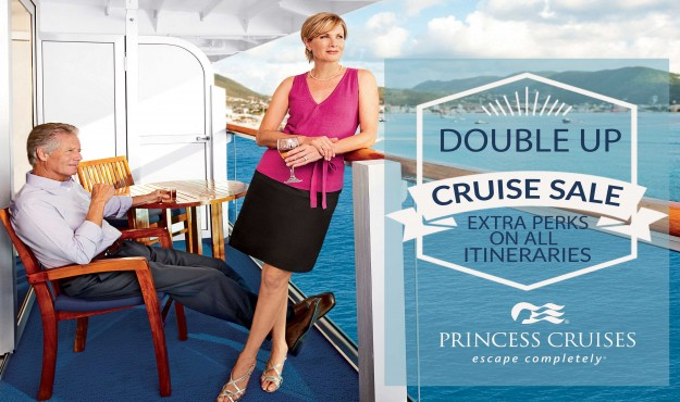 Reduced Cruise Fares + Double the Perks and Amenities on Princess Cruises