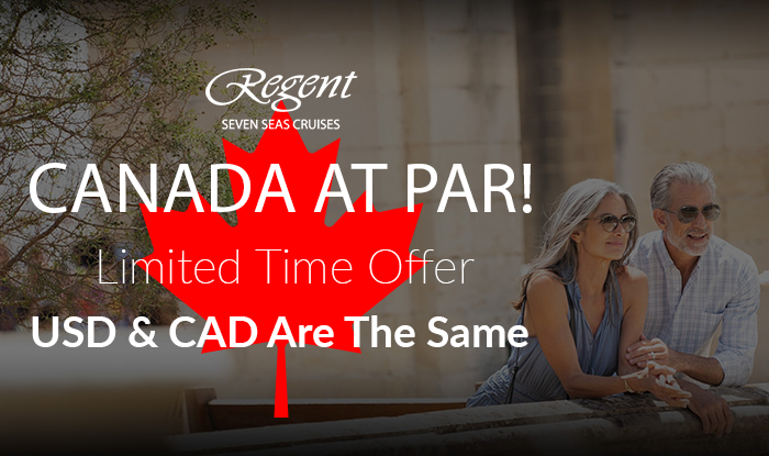 Canada at Par Pricing! Plus Bonus Perks