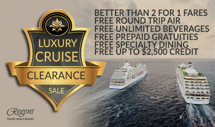 Regent Seven Seas Cruises Clearance Sale