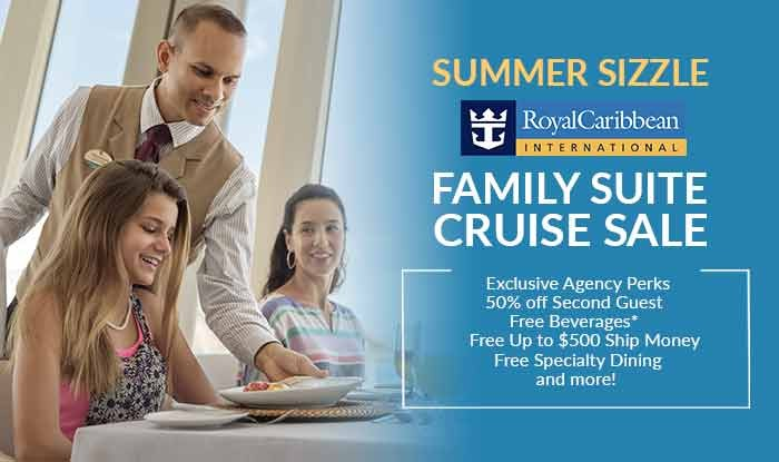 Royal Caribbean Family Suite Cruise Sale
