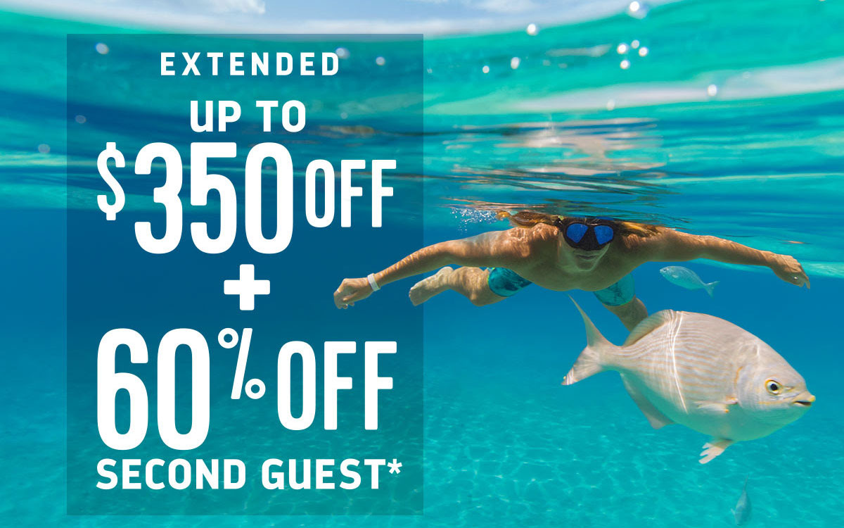 Royal Caribbean offering up to $350 Off + 60% Off Second Guest