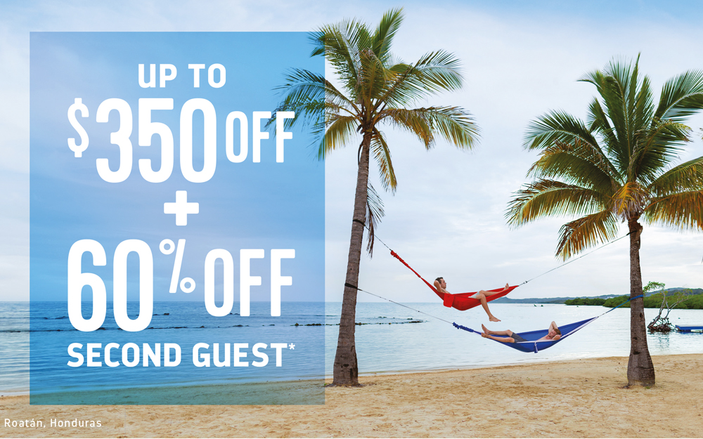 Royal Caribbean - Up to $350 OFF + 60% OFF Second Guest