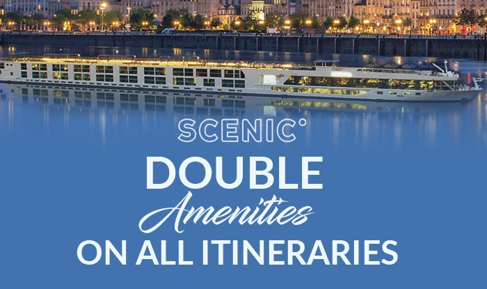 Scenic Cruise Sale - Double Amenities on all Reservations