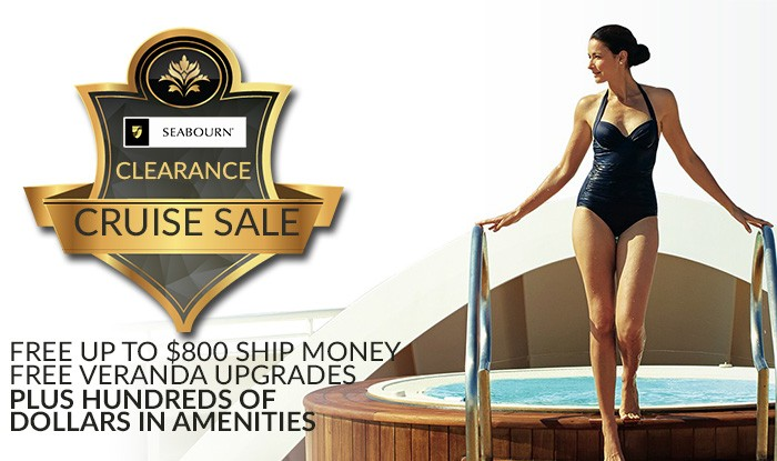 SEABOURN CLEARANCE CRUISE SALE
