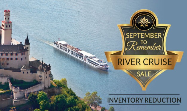 September to Remember - Inventory Reduction on ALL River Cruises!