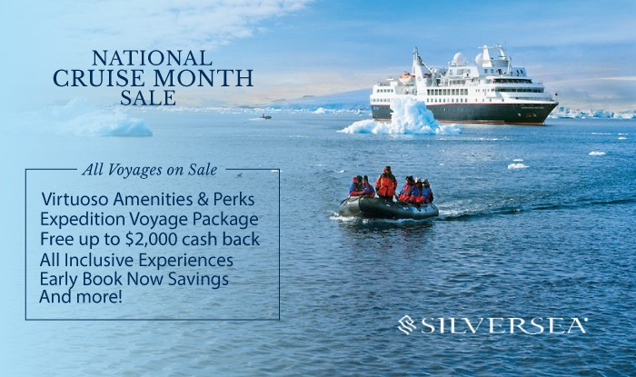 Silverea National Cruise Month
