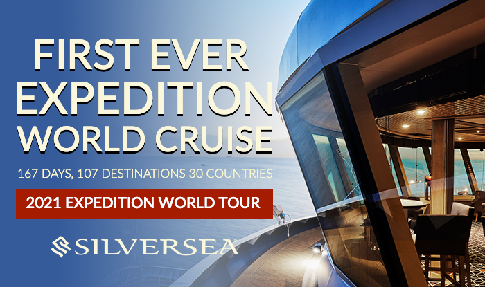 Silversea Cruise Sale - Expedition World Tour Exclusive