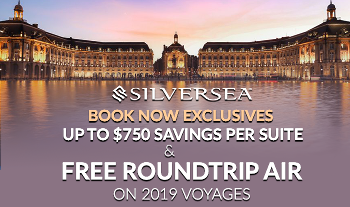 Silversea Wave Season Sale