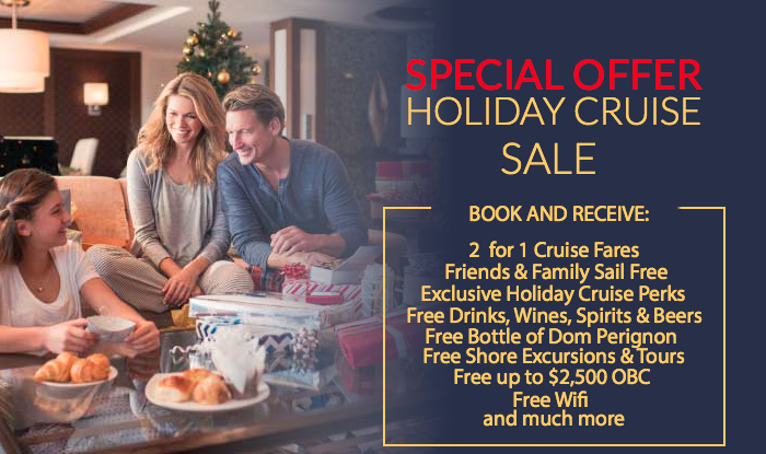 Viking Ocean Cruises -* Holiday Cruise Sale