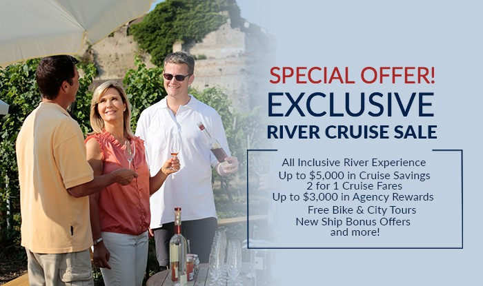 Special Offer! Exclusive River Cruise Sale