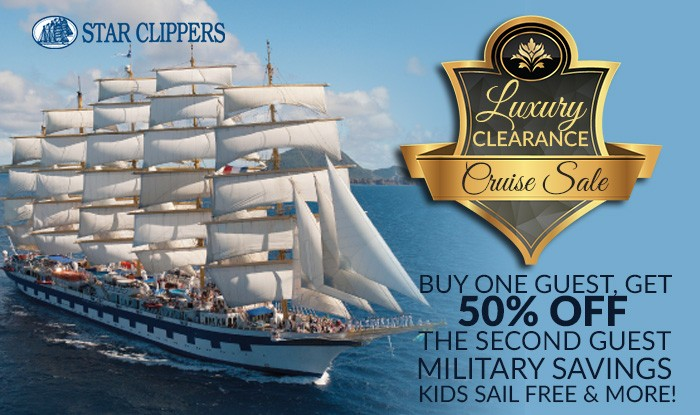 Star Clippers Clearance Cruise Sale