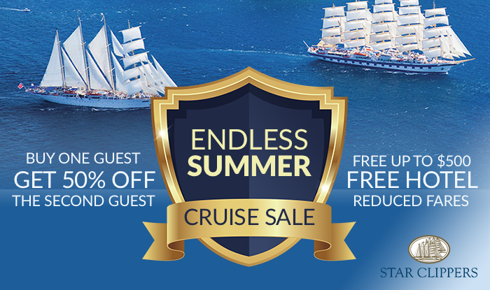 STAR CLIPPERS ENDLESS SUMMER SALE