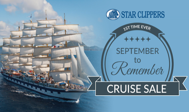 Star Clippers September to Remember Cruise Sale