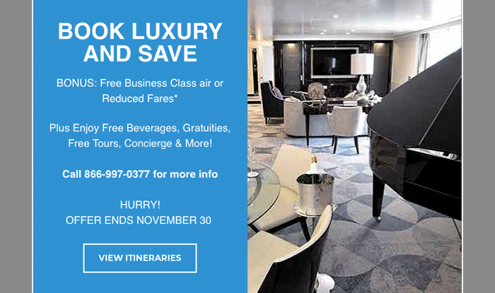 Silversea -* Suite Deal Cruise Sale