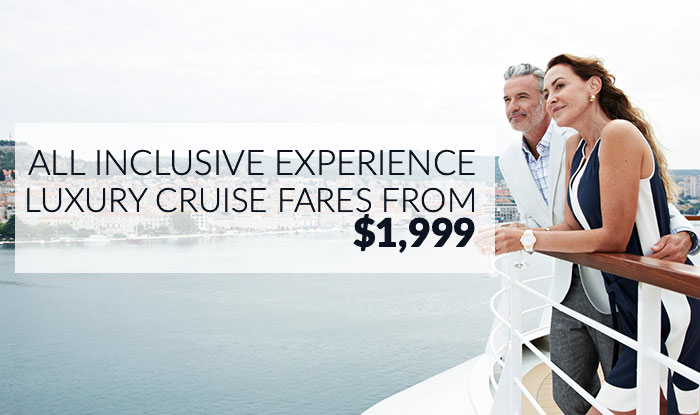 Suite Deal! Luxury Cruise Sale. Enjoy Thousands in Savings & Added Value