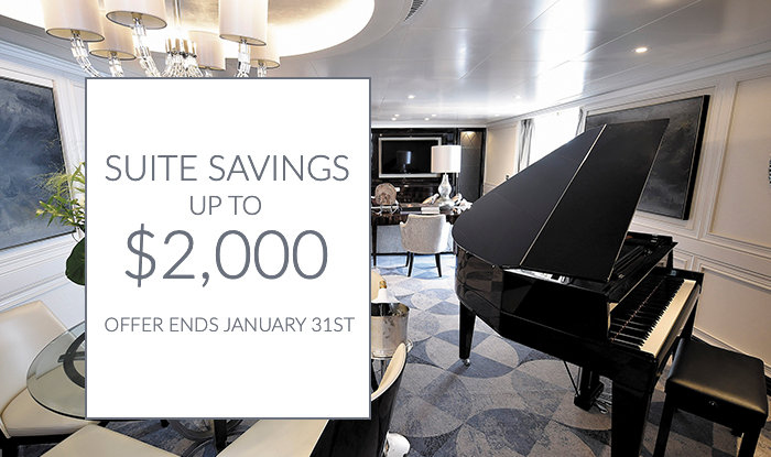 Suite Deals! Book and Enjoy up to $2,000 Savings