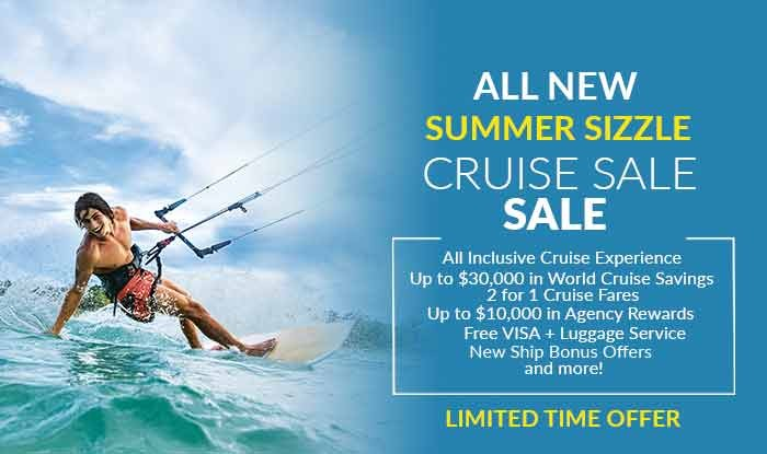 Summer Sizzle Cruise Sale