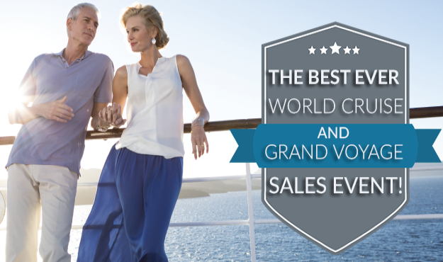 The Best Ever World Cruise Grand Voyage Sale