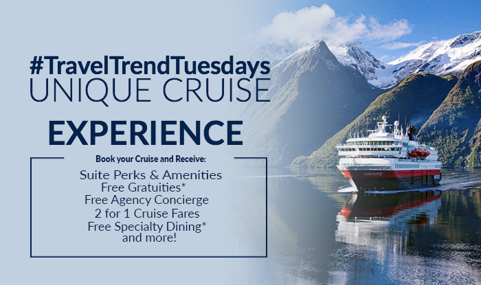 Travel Trend Tuesdays! Exciting Cruise Deals for Unique Experiences