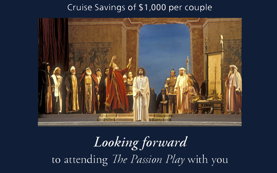 Viking - Cruise Savings of up to $1,000 for Obberagramau Passion Play