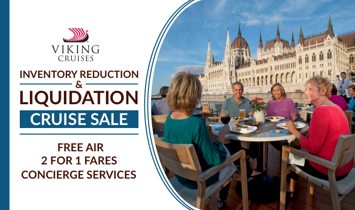 Viking Cruises Inventory Reduction & Liquidation Sale