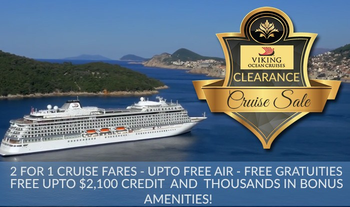 VIking Ocean Clearance Cruise Sale