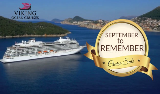 VIKING OCEAN CRUISE SALE - MAKE IT A SEPTEMBER TO REMEMBER