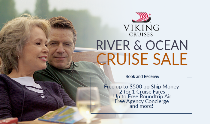 Viking Ocean & River Voyages + Special Savings