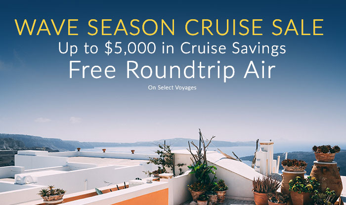 Up to Free Roundtrip Air + Up to $1,000 Shipboard Credit