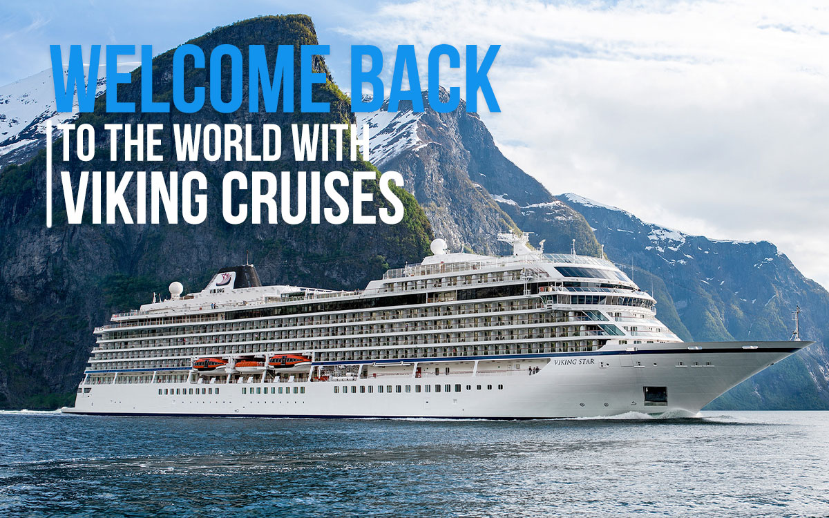 Welcome Back to the World with Viking Cruises - New Itineraries available for Iceland and Bermuda Beginning in June 2021