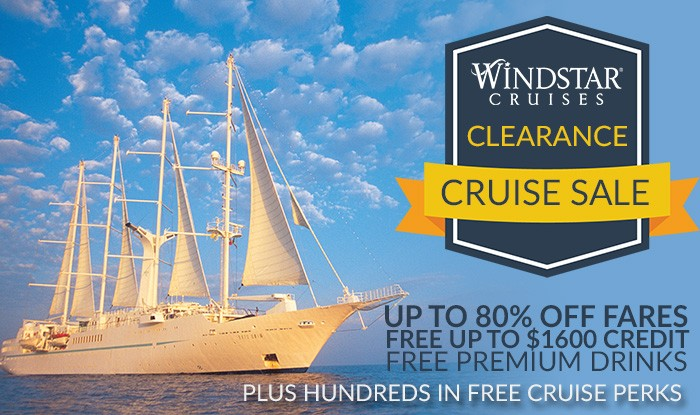 Windstar Cruise Clearance Cruise Sale