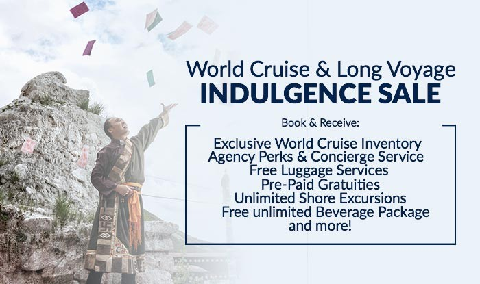 World Cruise Indulgence Sale