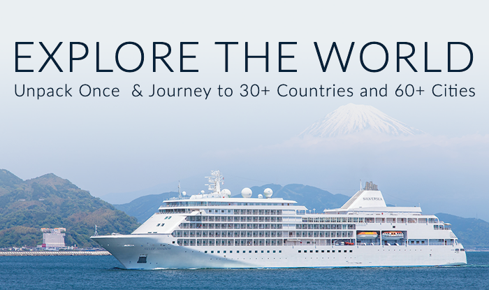 World Cruise Sale! Enjoy a Once In a Lifetime Experience